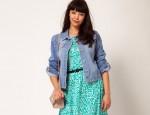 ASOS CURVE Exclusive Denim Jacket for Plus-Size Women
