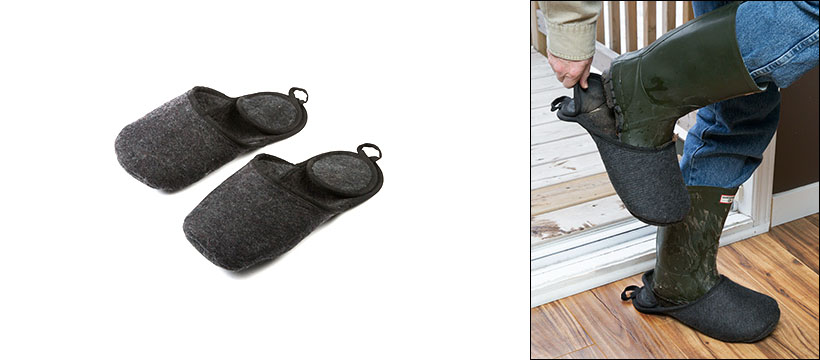 Boot Slippers for Garden Lovers from Lee Valley Tools