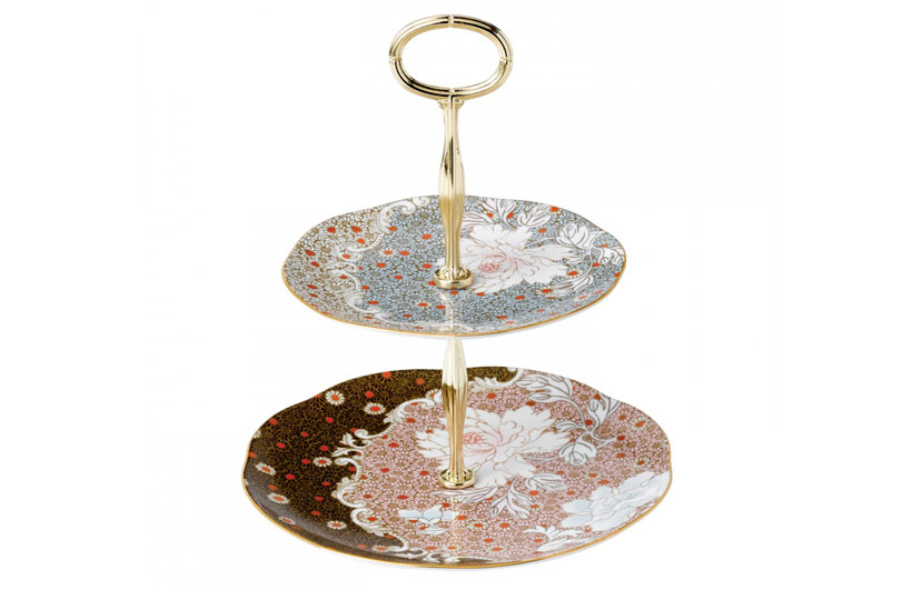 Luxury Daisy 2-Tier Cake Stand by Wedgwood