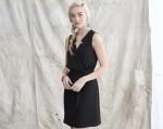 Casual Yet Elegant Little Black Shirt Dress from Mason & Belle