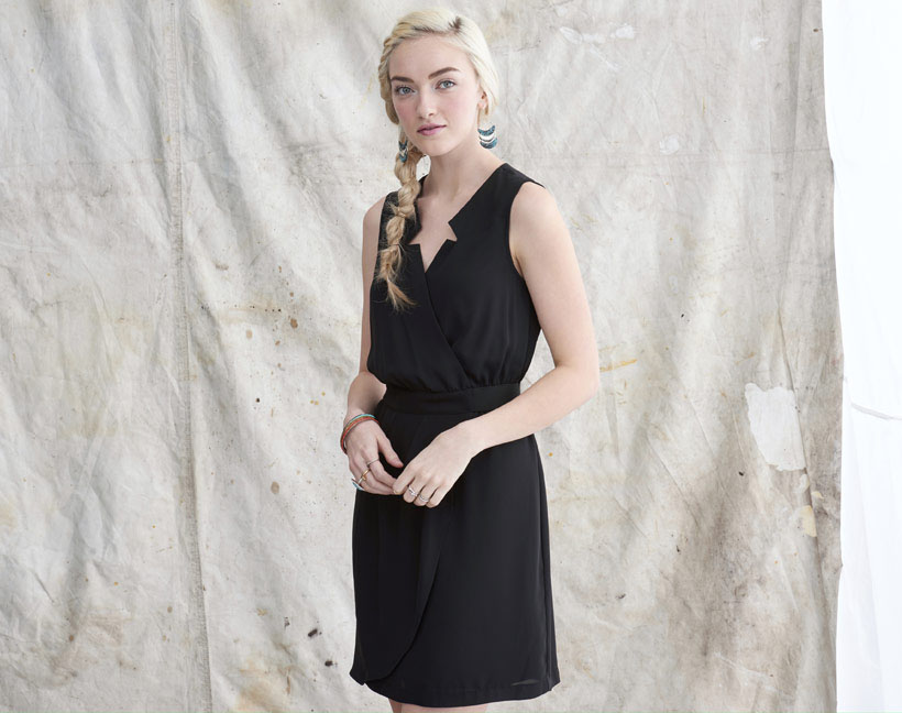 Little Black Shirt Dress from Mason & Belle