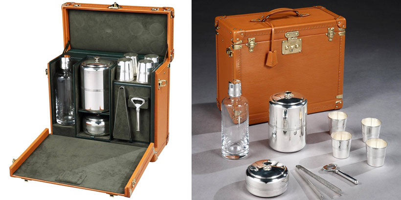 Louis Vuitton Portable Whisky Bar