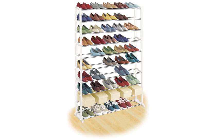Lynk 50 Pair Shoe Rack