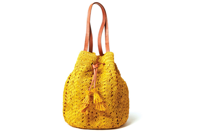 Madagaskar Drawstring Bag Yellow