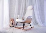 Mecedora Lactancia NANA : Elegant Rocking Chair for Modern Moms