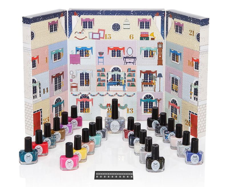Mini Mani Manor Nail Varnish Advent Calendar