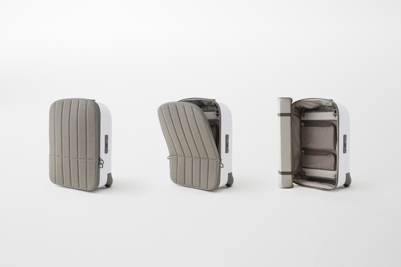 Nendo Kame Suitcase for Fabbrica Pelletterie Milano