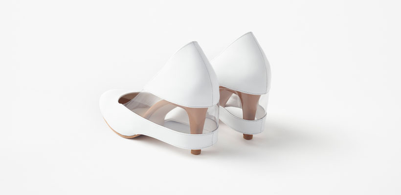 Nendo Skirt Shoes for Seibu Department Store