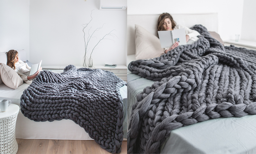 Ohhio Extra Large Blanket to Keep You Warm and Cozy in Colder Weather