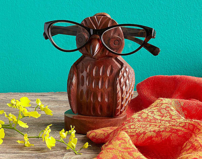 Owl Eyeglasses Holder
