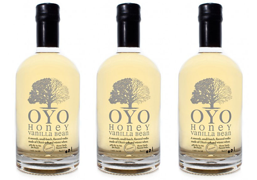 OYO Honey Vanilla Bean Vodka by Middle West Spirits
