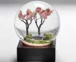 Smithsonian Spring Waterglobe Reminds You to The Beauty of Cherry Blossoms