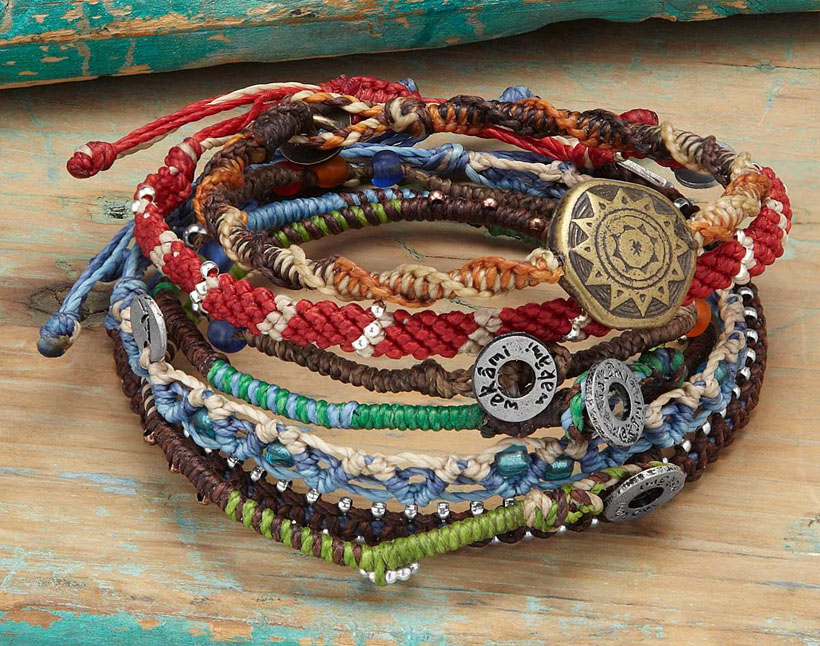 Inspired by Nature, Here's Beautiful Story of the Earth Set of 7 Bracelets